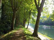 le canal et la piste cyclable