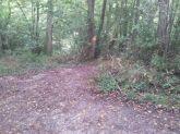 puis prendre à droite et laissez vous guider par le sentier.