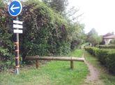 prendre le sentier de Cussade à gauche