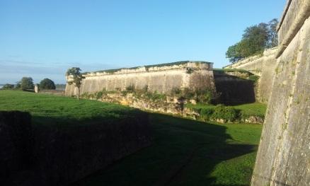 Citadelle de Blaye côté sud